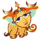 Zodiaco - libra - aislado Foto de archivo libre de regalías