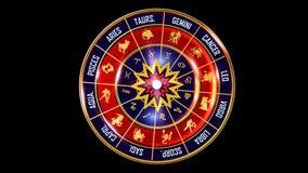 zodiaco todo el fondo fotografía de archivo