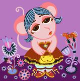 Zodiaco - virgo Fotos de archivo libres de regalías