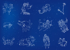 Zodiacs Stock Images