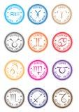 Zodiaków znaczki Zdjęcia Stock