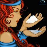 Zodiaków znaki - Libra Zdjęcie Royalty Free