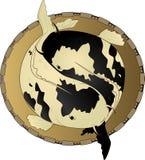Zodiaków znaki - Pisces Obrazy Royalty Free