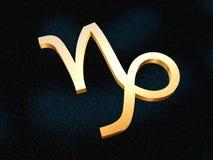 zodiak capricorna Ilustracji