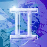 zodiak gemini serii Obraz Stock