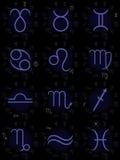Zodiak podpisuje kolekcję Obrazy Stock
