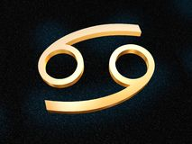 zodiak raka Ilustracja Wektor