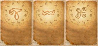 Zodiak serie Obrazy Royalty Free