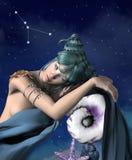 Zodiak serie - nowotwór Zdjęcie Royalty Free