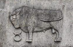 Zodiak - Taurus lub byk fotografia stock