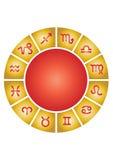 zodiak wektor gromadzenia danych Zdjęcia Stock