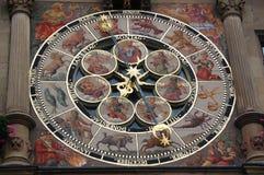 ZODIAKA zegarek Obrazy Royalty Free