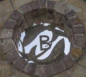 Zodiaka znak ryba jako dekoracyjna powierzchowność Zdjęcia Royalty Free
