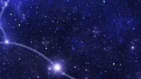 Zodiakalny gwiazdozbioru Taurus ilustracja wektor