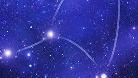Zodiakalny gwiazdozbioru Virgo zbiory wideo