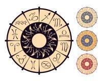 Zodiakalny okrąg Zdjęcia Stock
