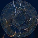 Zodiaktid vektor illustrationer