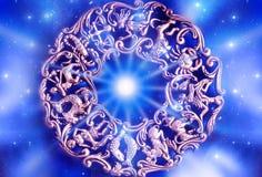 Zodiaque photo stock