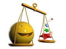 Zodiaque de Balance Image libre de droits