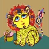 zodiaque de Lion Photos libres de droits