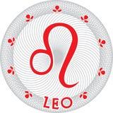 zodiaque de signe de Lion Photographie stock libre de droits