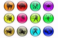 zodiaque des signes douze Photos libres de droits