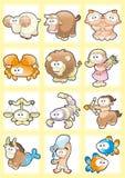 Zodiaque drôle Image stock