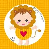 Zodiaque Lion illustration de vecteur