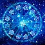 Zodiaque mystique illustration libre de droits