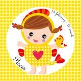 Zodiaque Poissons Photos libres de droits