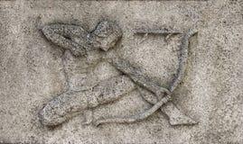 Zodiaque - Sagittaire ou Archer, Images libres de droits