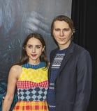 Zoe Kazan und Paul Dano Stockfotos
