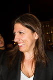 Zoe Konstantopoulou president av den hellenska parlamentet, gree Royaltyfria Foton