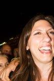 Zoe Konstantopoulou president av den hellenska parlamentet, gree Arkivbild