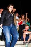Zoe Konstantopoulou president av den hellenska parlamentet, gree Royaltyfri Bild