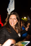 Zoe Konstantopoulou, Voorzitter van het Helleense Parlement, gree Royalty-vrije Stock Foto