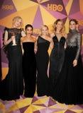 Zoe Kravitz, Reese Witherspoon, Laura Dern, Shailene Woodley en Nicole Kidman stock foto's