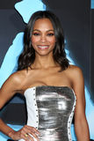 Zoe Saldana. Arriving at the Los Angeles Premiere of Avatar Grauman's Chinese Theater Los Angeles, CA December 16, 2009 royalty free stock photo