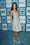 Zoe Saldana. At the 2008 Film Independent's Spirit Awards. Santa Monica Pier, Santa Monica, CA. 02-23-08 Royalty Free Stock Image