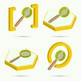 zoek Stock Illustratie