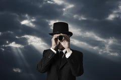 Zoek in duisternis Royalty-vrije Stock Foto's