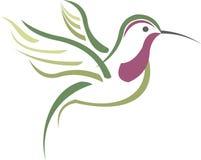Zoemende Vogel stock illustratie