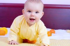 Zoet babymeisje Royalty-vrije Stock Afbeelding