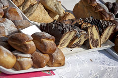 Zoet brood Royalty-vrije Stock Foto's
