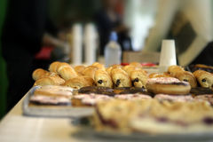 Zoet buffet royalty-vrije stock foto's