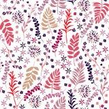 Zoet de bloem naadloos patroon van de kleurenvrijheid, Zachte in in s Royalty-vrije Stock Foto's