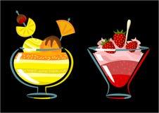 Zoet dessert Stock Foto