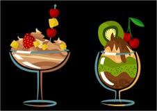 Zoet dessert Royalty-vrije Stock Afbeeldingen