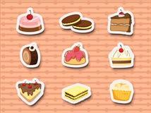 Zoet dessert royalty-vrije illustratie