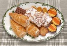 Zoet Dessert Royalty-vrije Stock Foto's